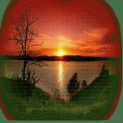 sunset paysage coucher de soleil