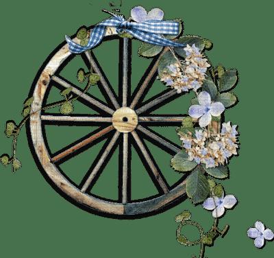 wheel autumn flower fleur deco