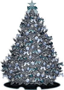 Kaz_Creations Blue Christmas Deco