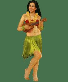 hula woman tahiti
