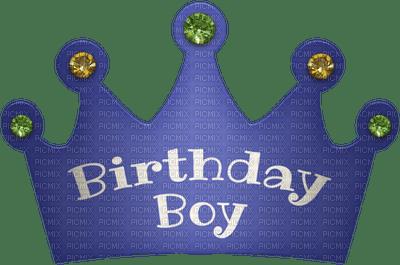 Kaz_Creations Birthday Party Hat Text Birthday Boy, kaz ...