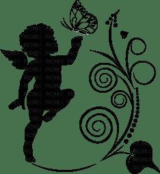 Ange Ange Coeur Papillon Amour Decoration Picmix