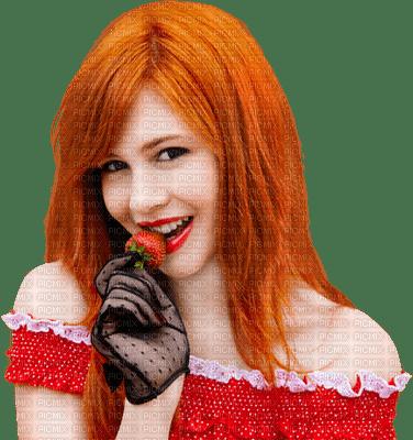 Kaz_Creations Woman Femme Fruit Strawberry