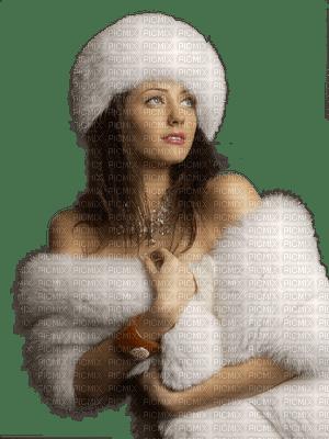 femme woman frau winter hiver