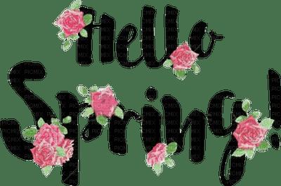 loly33 texte hello spring