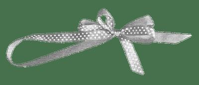Kaz_Creations Deco Ribbons Bows Grey Silver