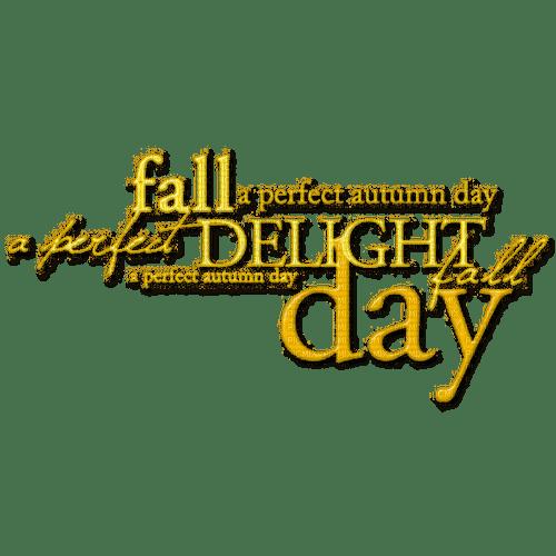 autumn fall text day png yellow kikkapink