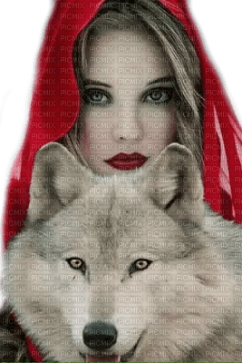 Red Hat аnd wolf