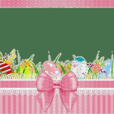 spring printemps frühling primavera весна wiosna  fond background   easter ostern Pâques paques   egg eggs eier œufs grass herbe flower fleur tube frame cadre pink