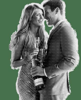 New Year.Couple.Champagne. .Victoriabea