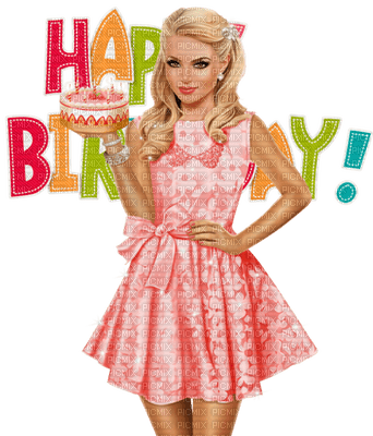Kaz_Creations Woman Femme Happy Birthday