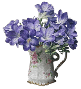 spring printemps flower fleur blossom fleurs  tube deco vase pot purple blumenbouquet  flower bouquet  bouquet de fleurs