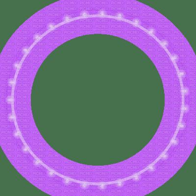 purple lights circle frame glowing christmas christmas frame picmix
