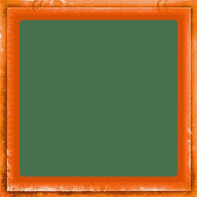 soave frame vintage border autumn orange
