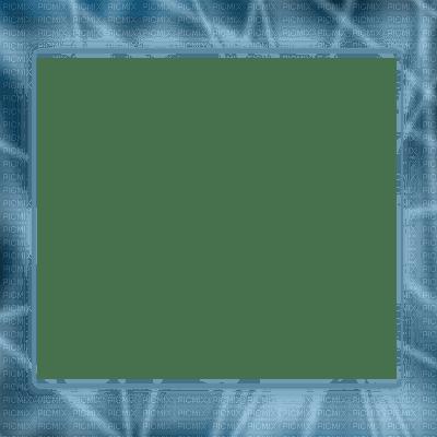 BLUE TRansparent frame