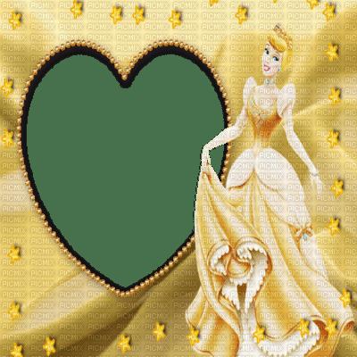 heart gold princess disney cartoon film movie frame cadre fantasy  fond background tube image