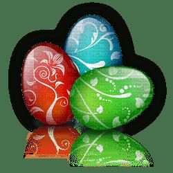 Pâques  œufs décor_Easter eggs decor