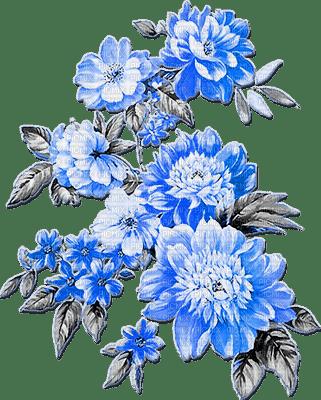 soave deco flowers branch oriental black white