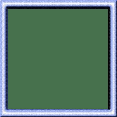 Light Blue Square Frame