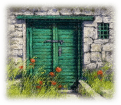 house, gate