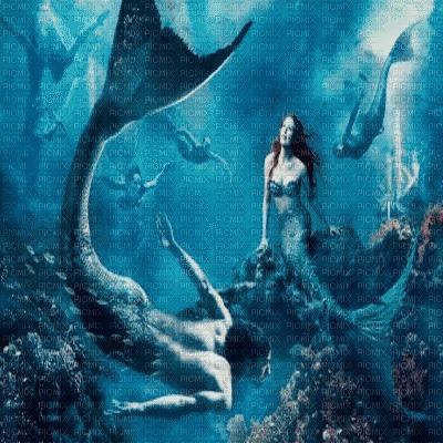 merman and mermaid  triton et sirene