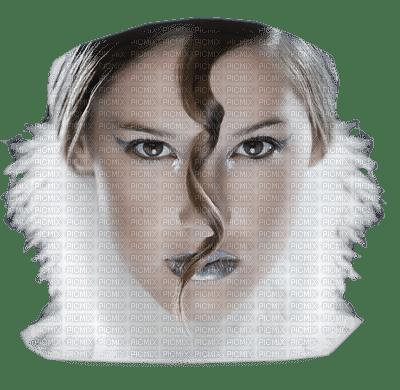 femme hiver visage woman winter face