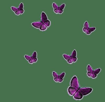 Kaz_Creations Deco Butterflies Purple