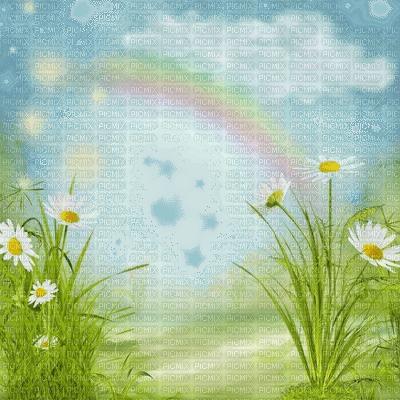 spring printemps frühling primavera весна wiosna tube fond background  flower fleur blossom bloom blüte fleurs blumen    garden jardin  paysage landscape grass