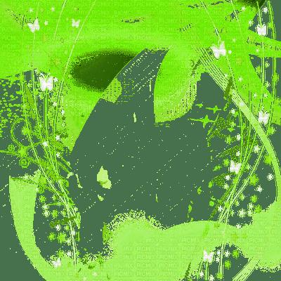 cadre vert green frame transparent