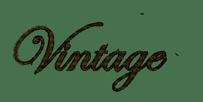 vintage text