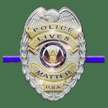Police Lives Matter PNG
