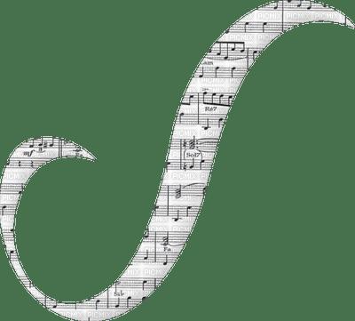 music notes ribbon
