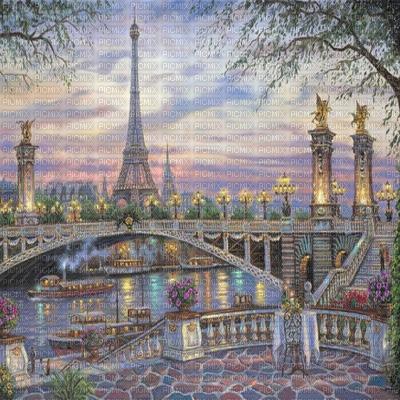 Fond background Paris