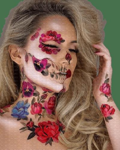 flower,girl,women,femme,rose, , fleur,artistic