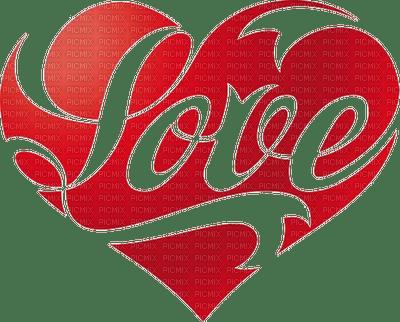 heart valentine love text coeur