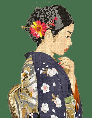 asian woman geisha femme