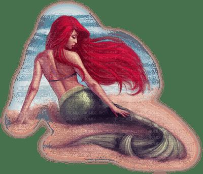 sirene MERMAID RED HAIR