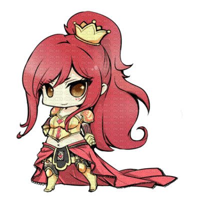Chibi erza reine manga fille scarlet fairy tail picmix - Fille fairy tail ...