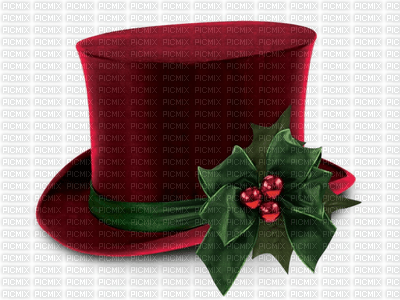 vintage christmas hat