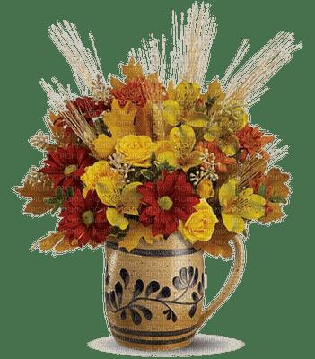 automne fleur vase deco autumn flowers