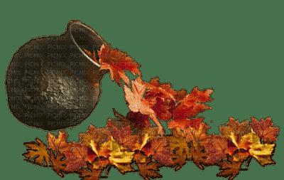 autumn decoration  leaves___BLUE dream 70