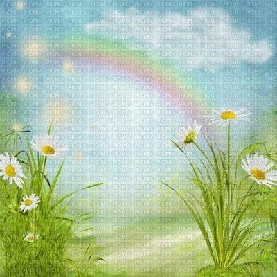 image encre la nature paysage anniversaire arc en ciel fleurs  printemps edited by me