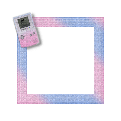 Small Pink/Blue Frame