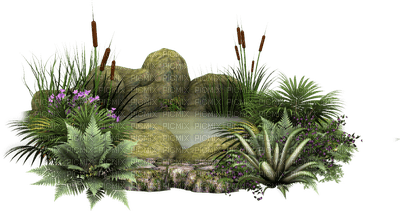 Kaz_Creations Deco Pond