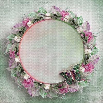 frame-pink-roses500x500