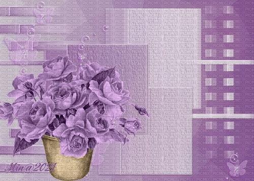 bg lila blommor