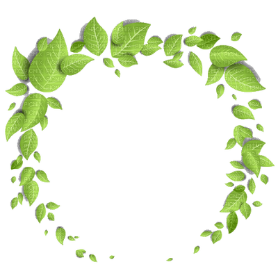 deco-round-leaves-green