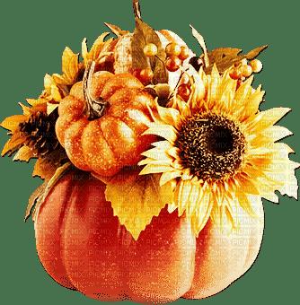 soave deco autumn tanksgiving flowers pumpkin