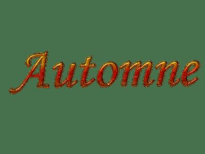 automne text