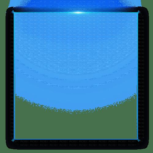 frame blue lights cadre bleu lumiere
